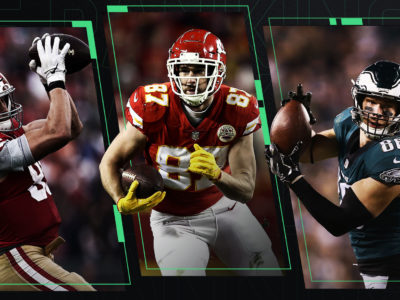 Fantasy Football 2019 : Who to draft at tight end and when ?