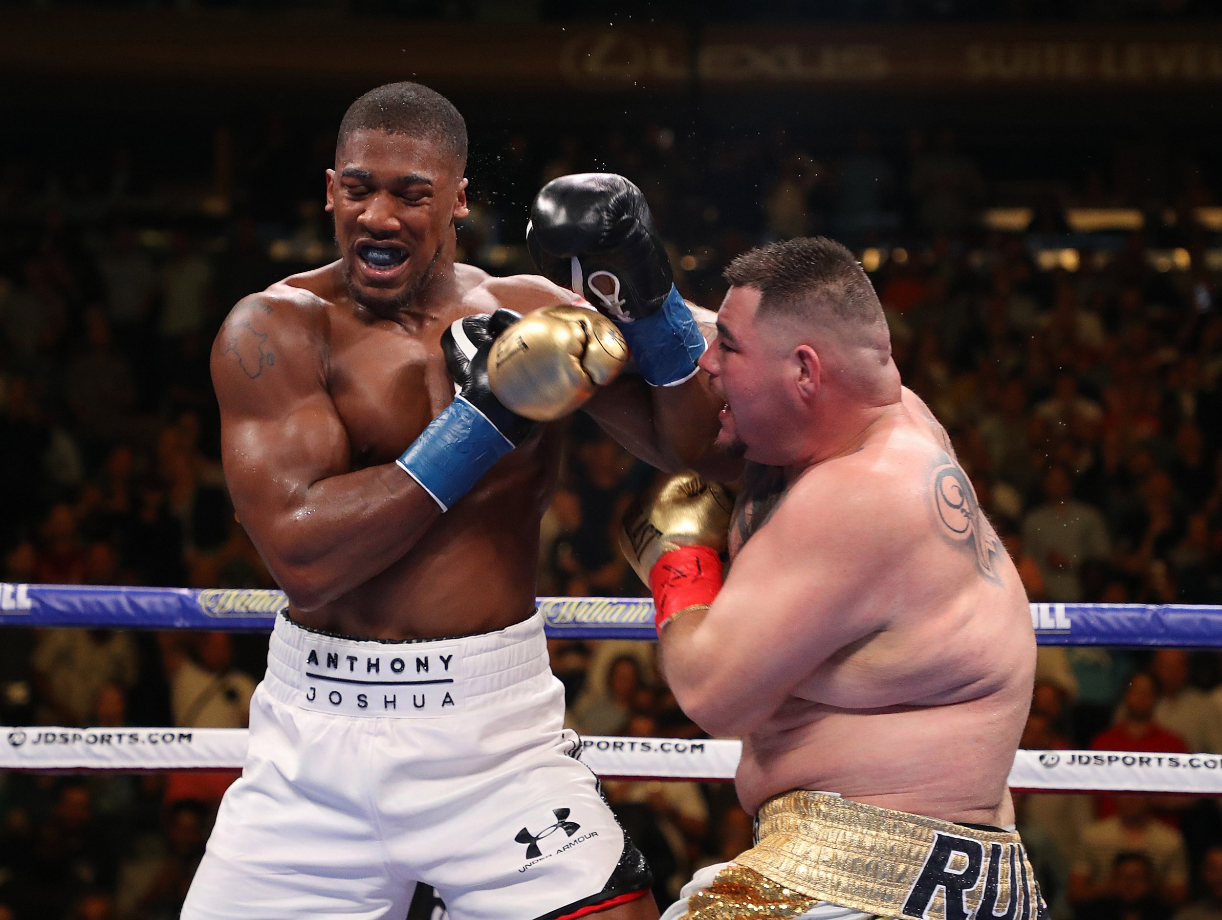 Anthony Joshua attains leaner physique ahead of his rematch with Andy Ruiz Jr