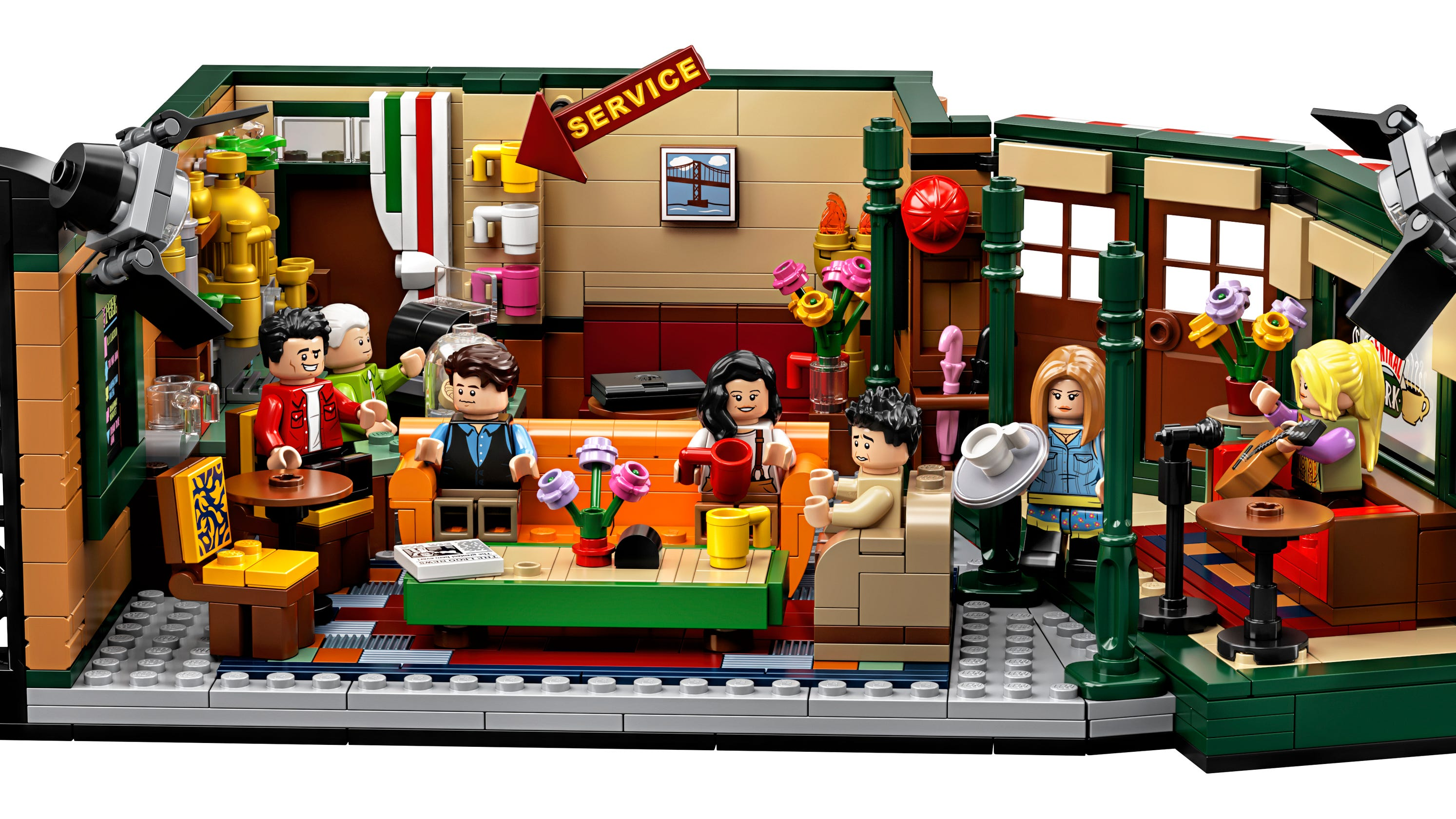 LEGO x FRIENDS Rachel Monica Joey Phoebe Chandler