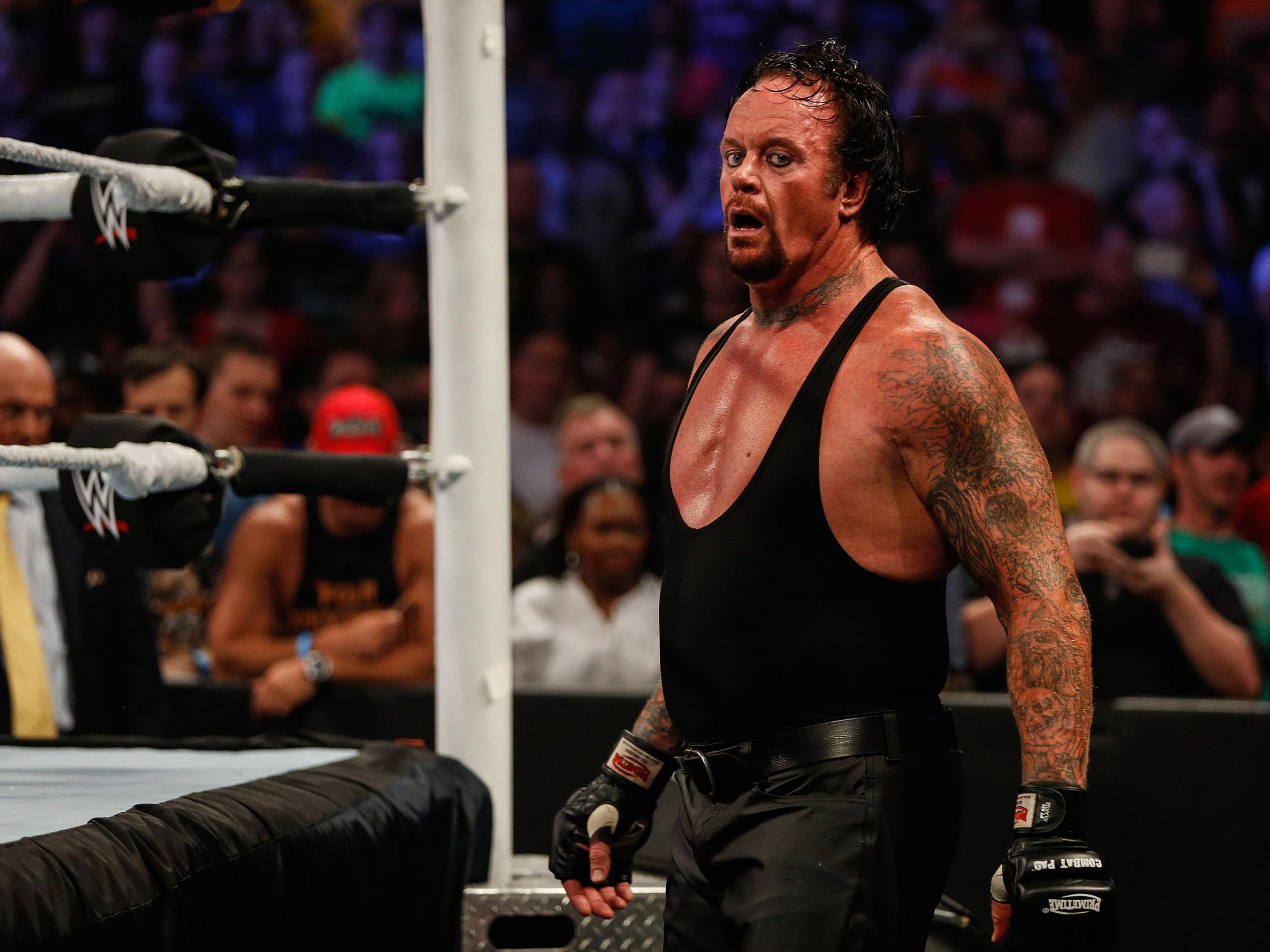 The Undertaker signs a never-ending deal with WWE