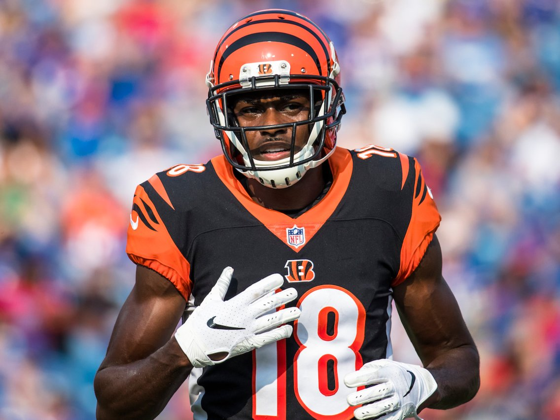 NFL trade deal AJ Green to Patriots
