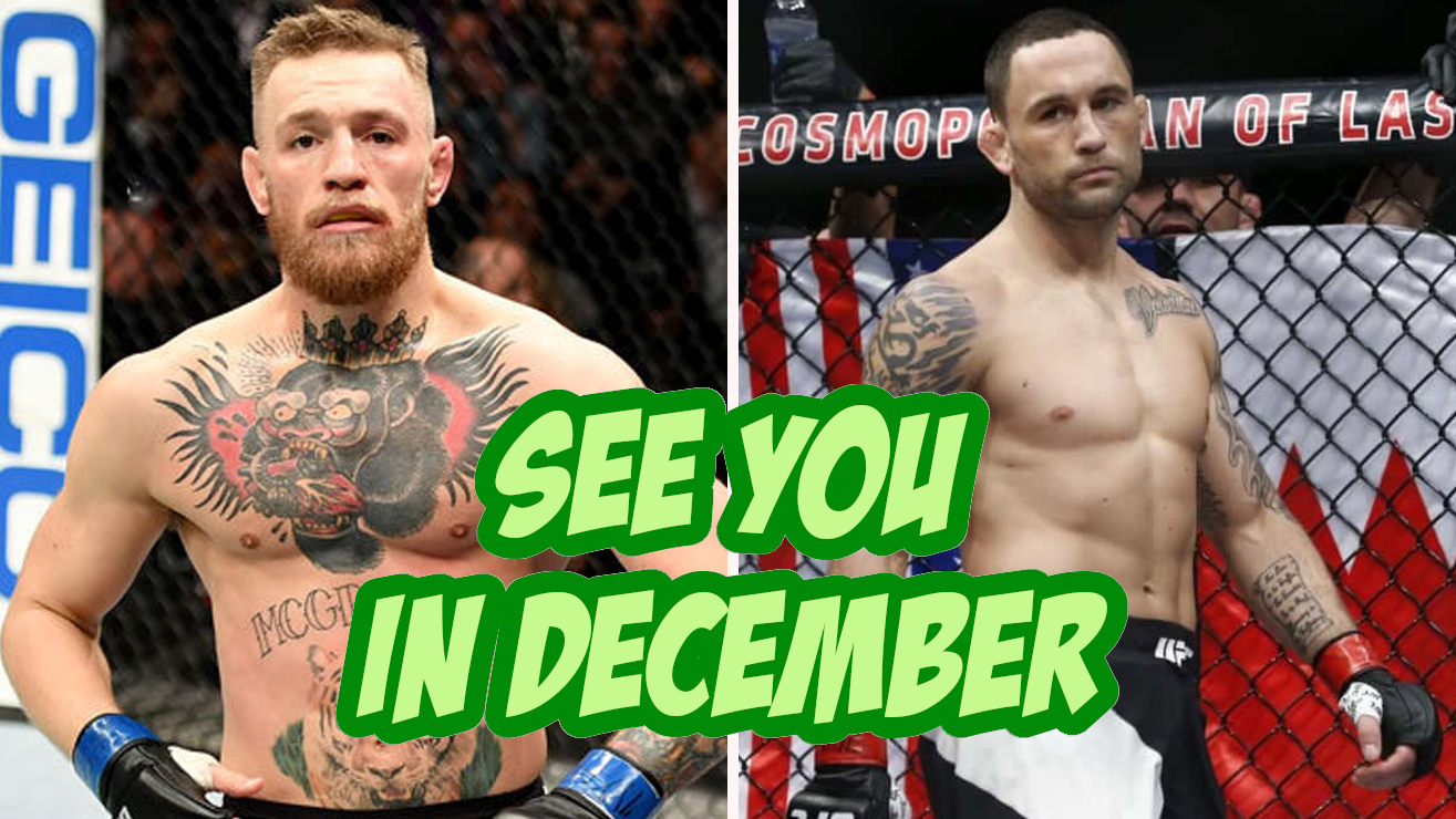 Conor McGregor vs Frankie Edgar