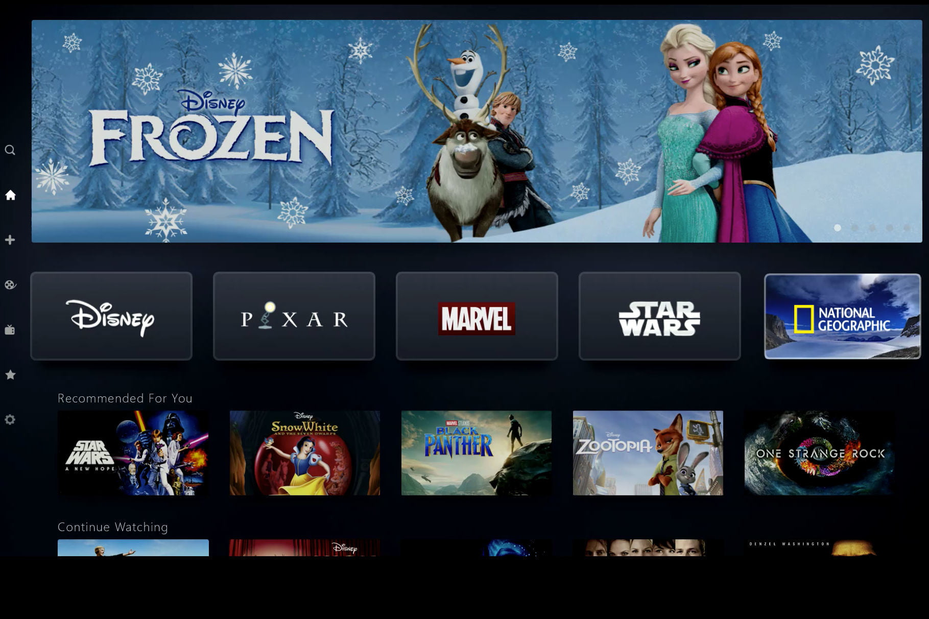 Disney+ Shows and Movies List
