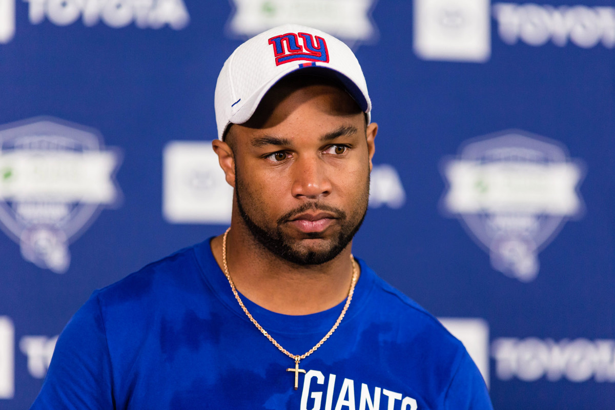 NFL Giants Trade Deal Golden Tate