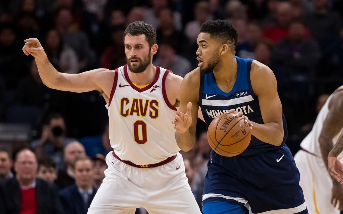 Kevin Love and Karl-Anthony Towns Duo