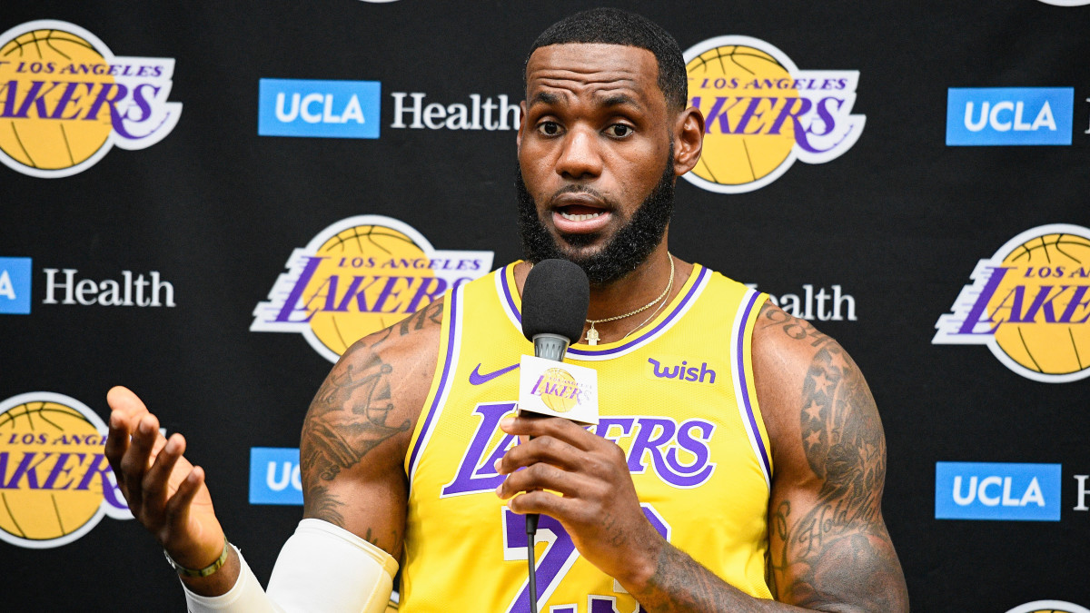 LeBron James NBA-China Comments