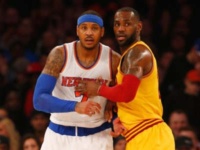 NBA LeBron James LA Lakers Carmelo Anthony