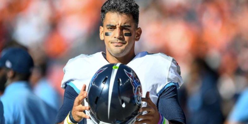 Marcus Mariota trade deal with Miami Dolphins