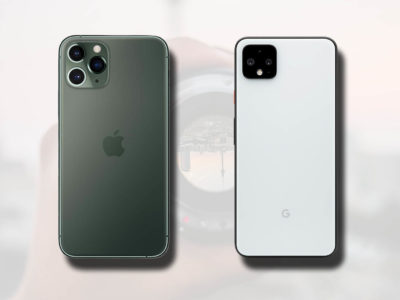 Google iPhone 11 vs Pixel 4