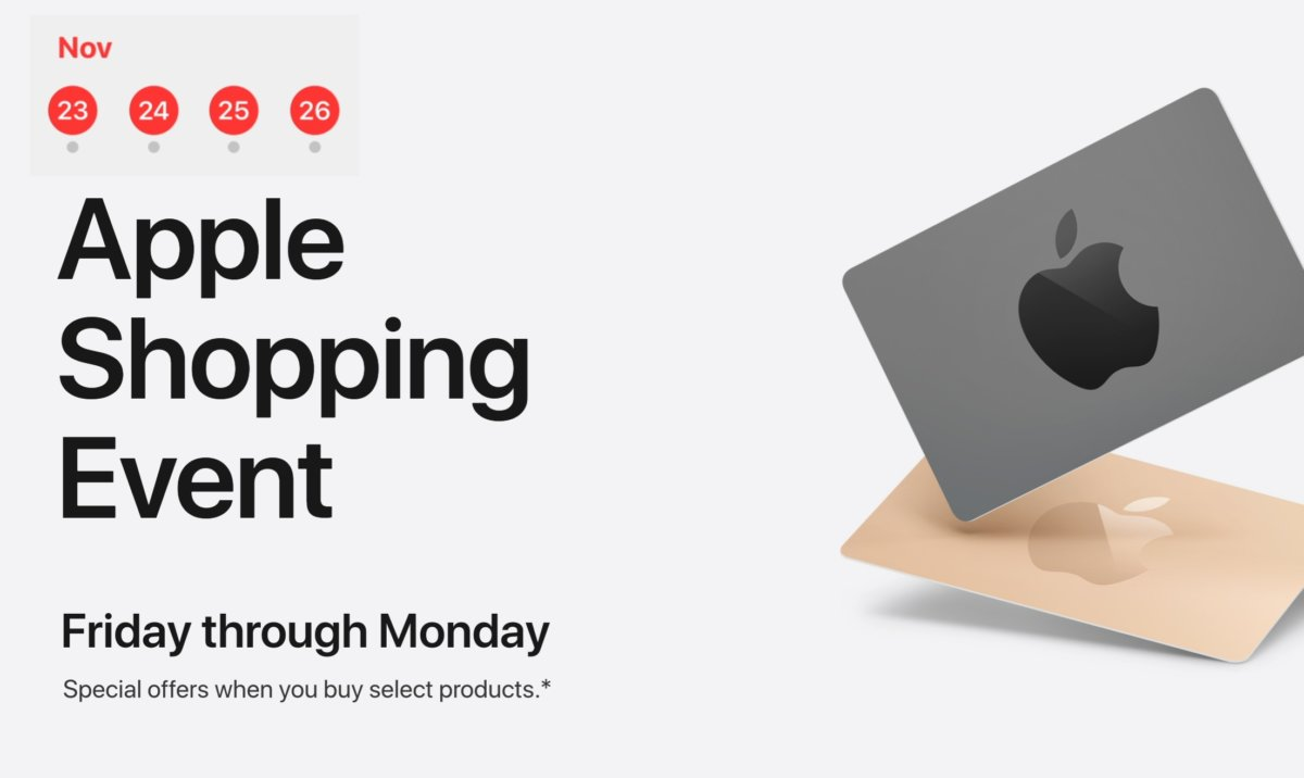 2019 Apple Black Friday Schedule
