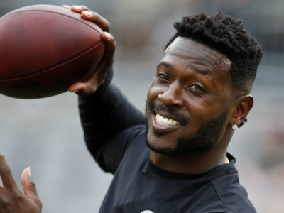 NFL Antonio Brown Trade Deal Philadelphia Eagles