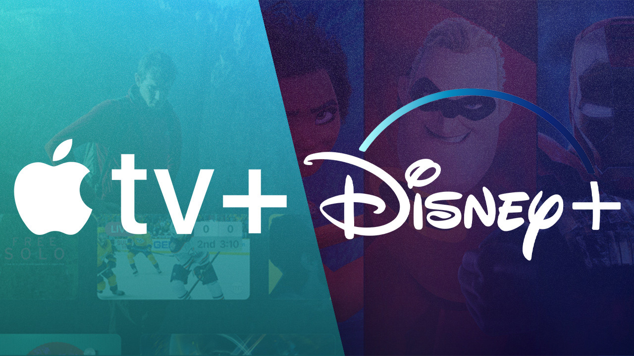 Apple TV Plus and Disney Plus are Side Services