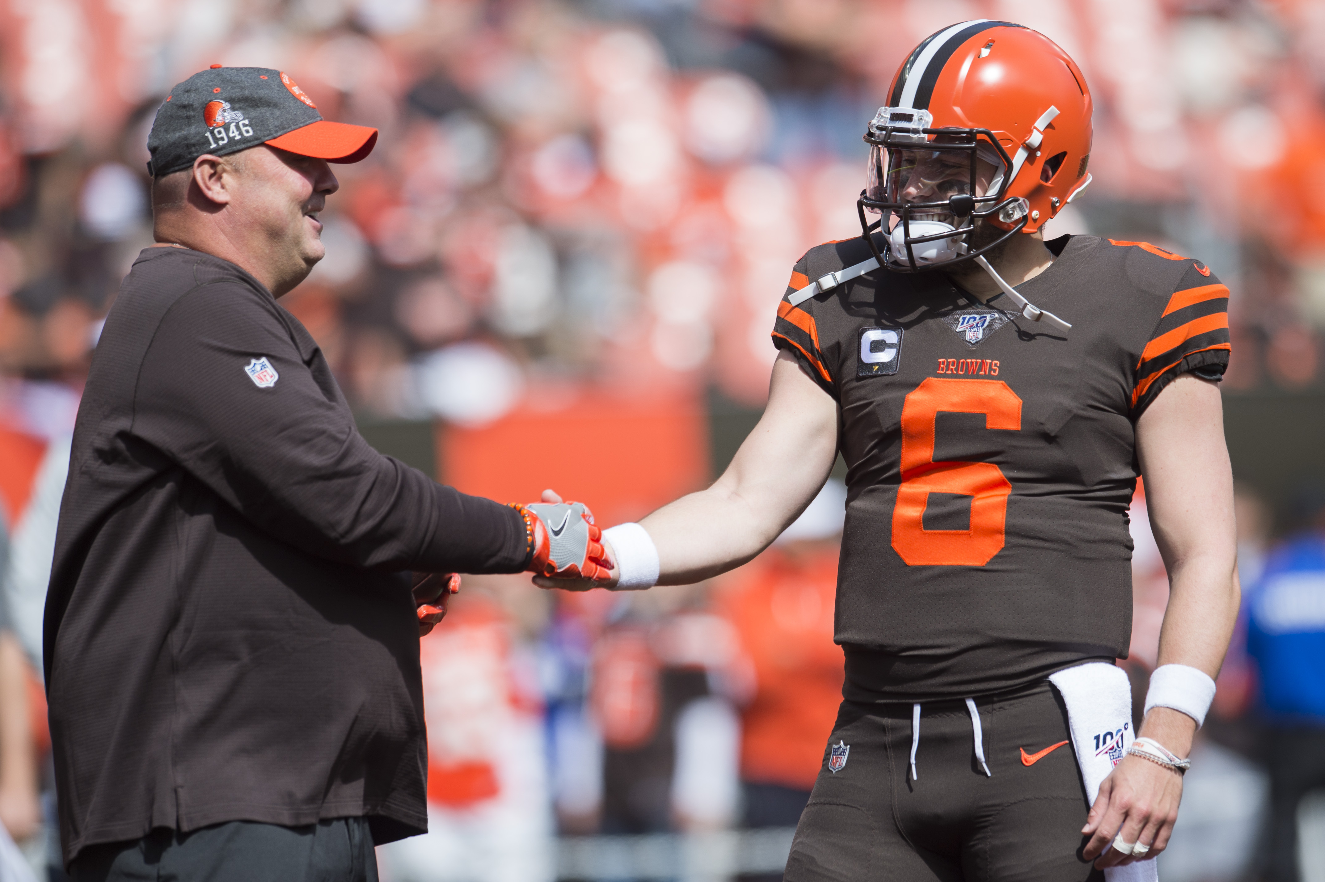 Baker Mayfield and Freddie Kitchens Issues NFL Odell Beckham Jr Cleveland Browns
