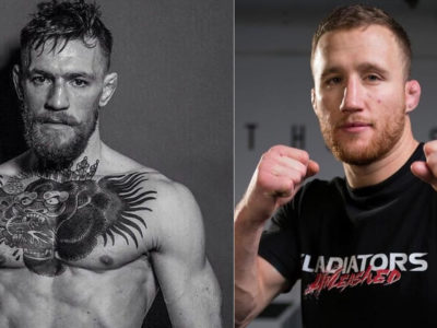 Conor McGregor vs Justin Gaethje
