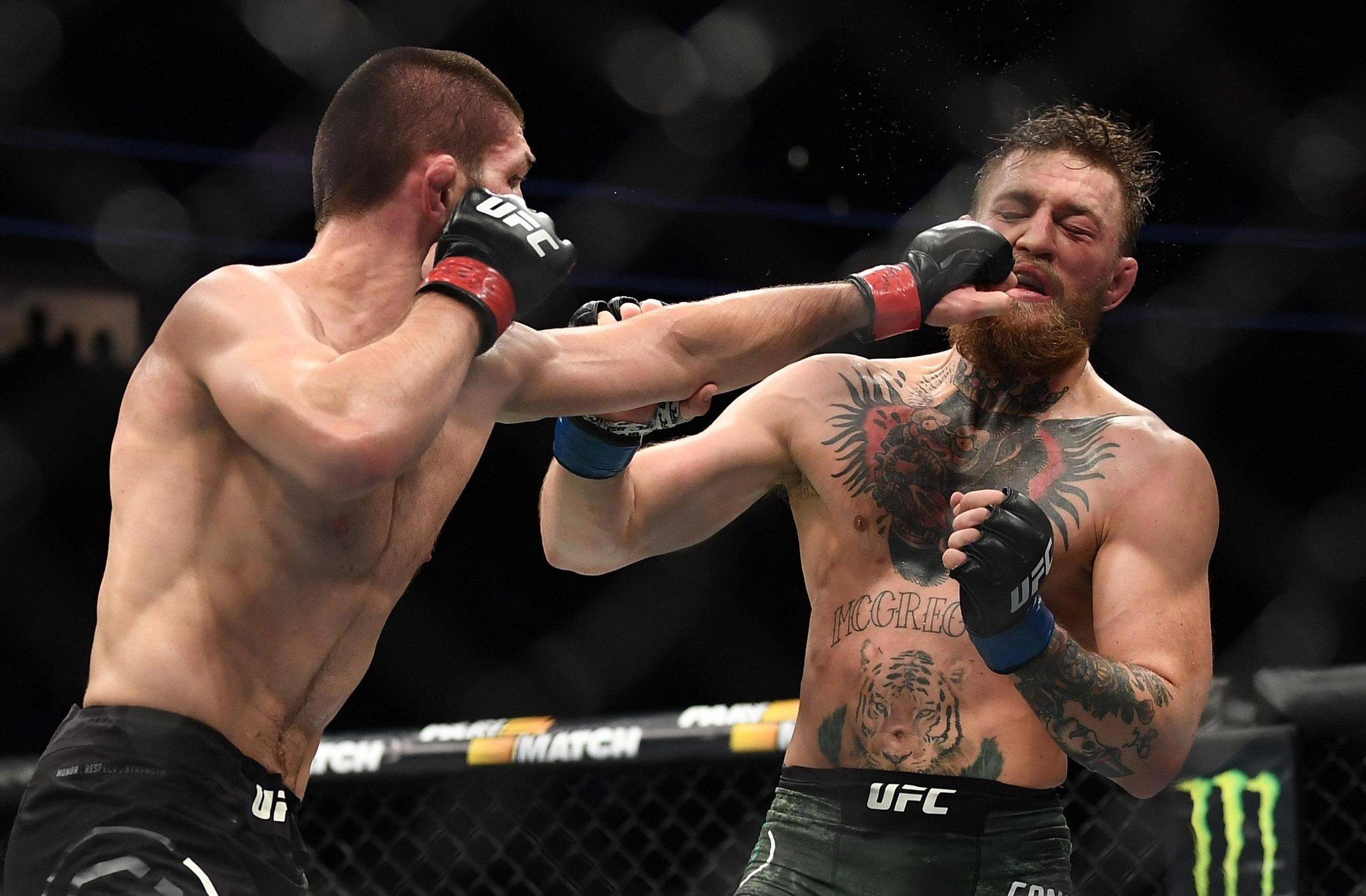 Conor McGregor vs Khabib Nurmagomedov Rematch