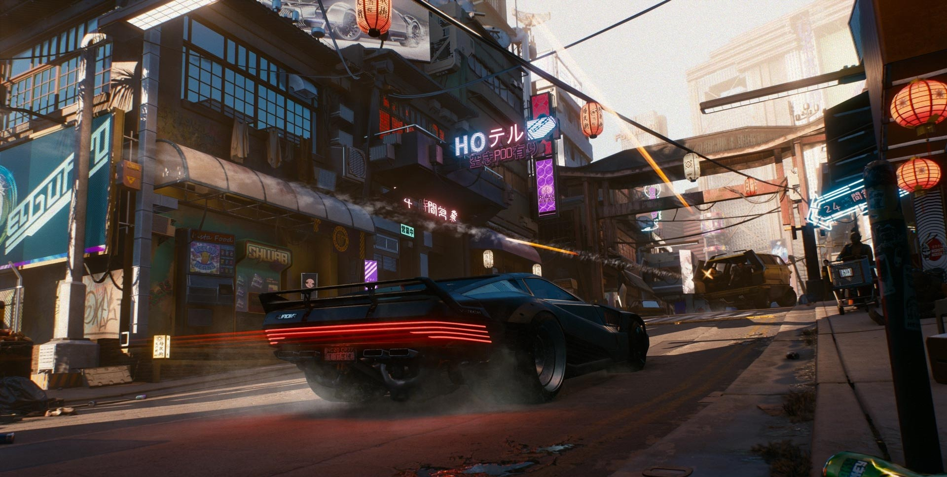 Cyberpunk 2077 will Have Realistic Cars than GTA
