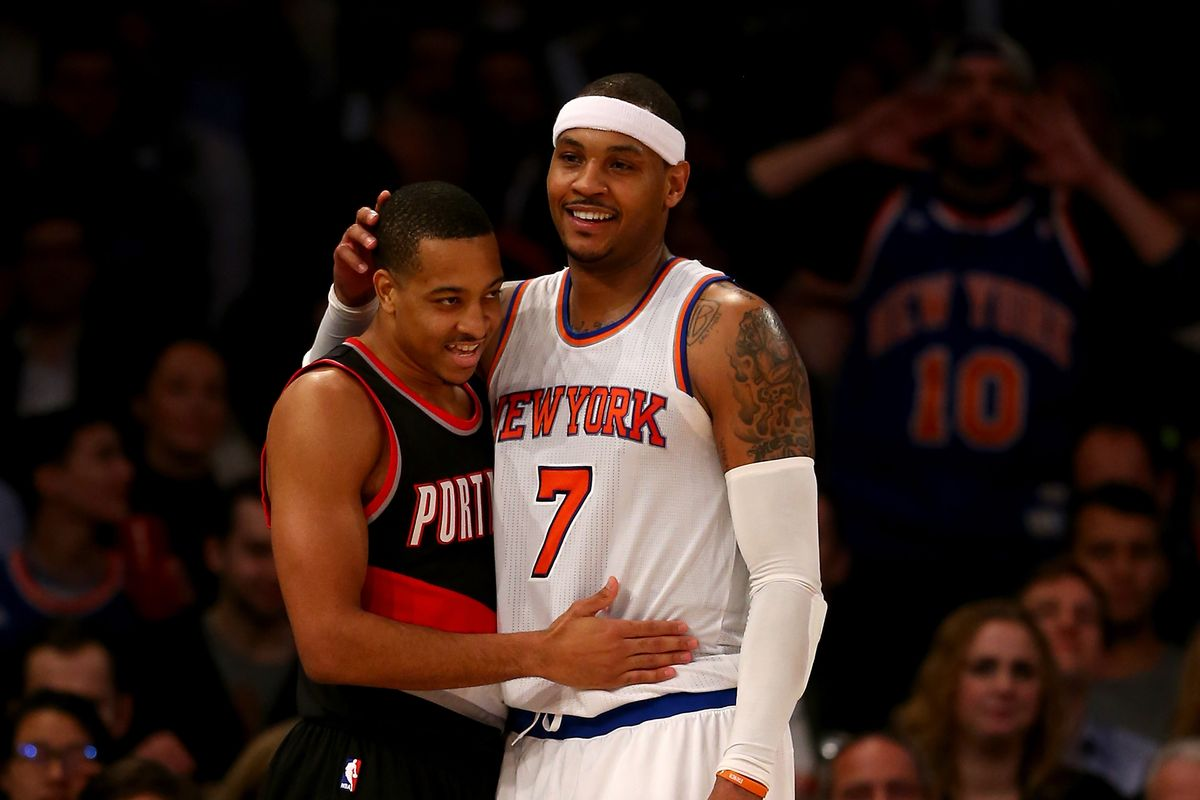 Damian Lillard and Carmelo Anthony Duo