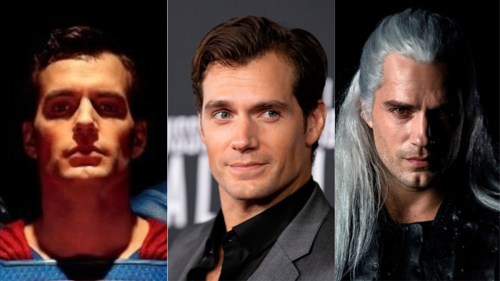 Henry Cavill from Superman to Witcher