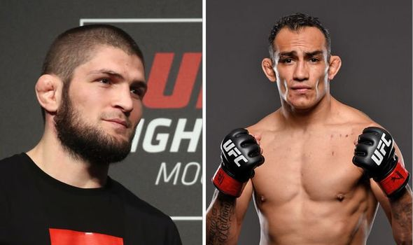 Khabib Nurmagomedov vs Tony Ferguson April 2020