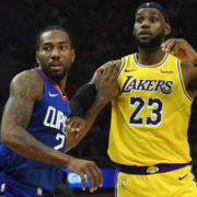 LeBron James vs Kawhi Leonard Lakers vs Clippers