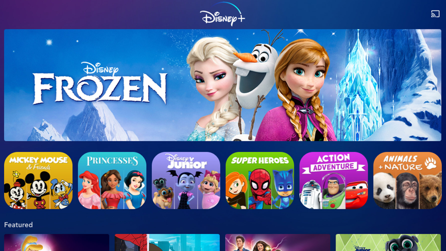 Platforms to Watch Online and Stream Frozen 2
