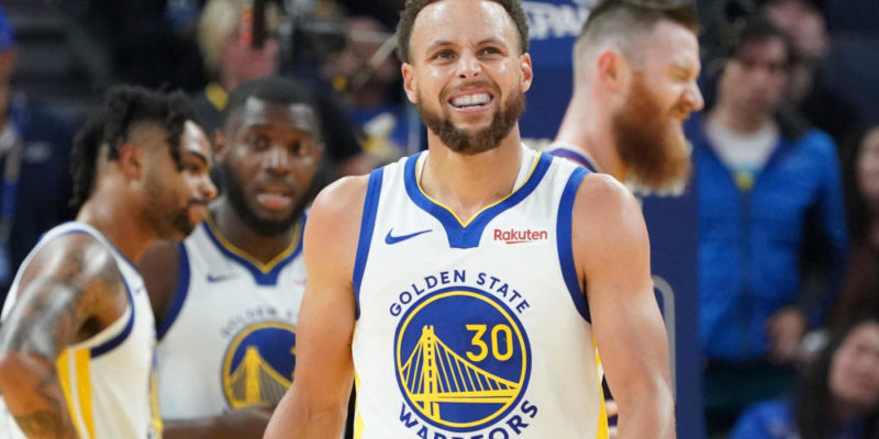 Stephen Curry Golden State Warriors Injury