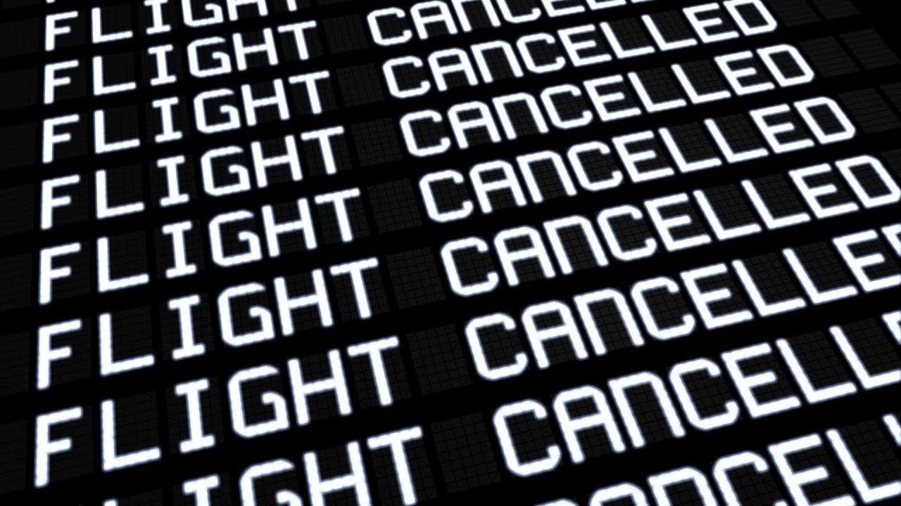 Thanksgiving Flights Cancelled 2019