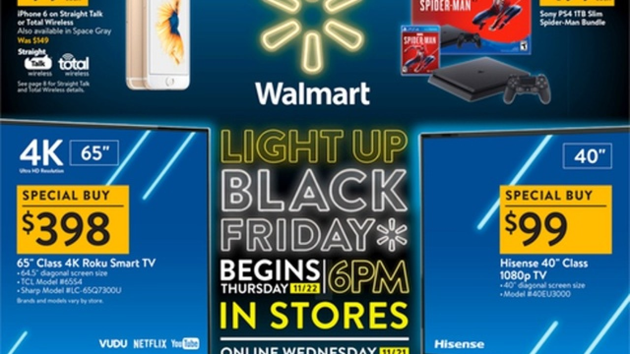 Walmart Black Friday Timings and Details