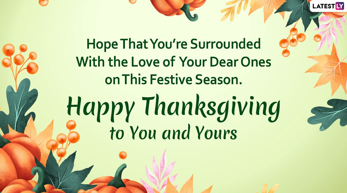 happy thanksgiving message for facebook