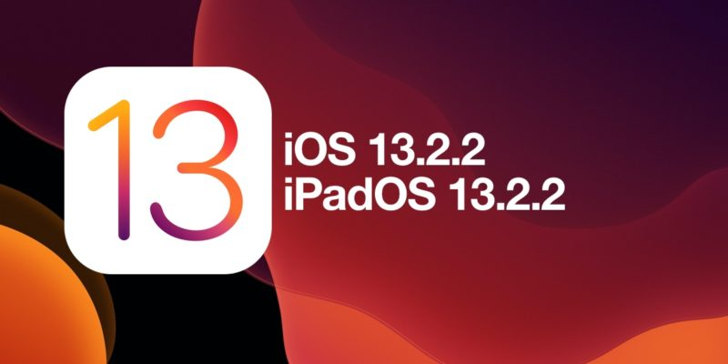 iOS 13.2.2 Update iPhone iPad