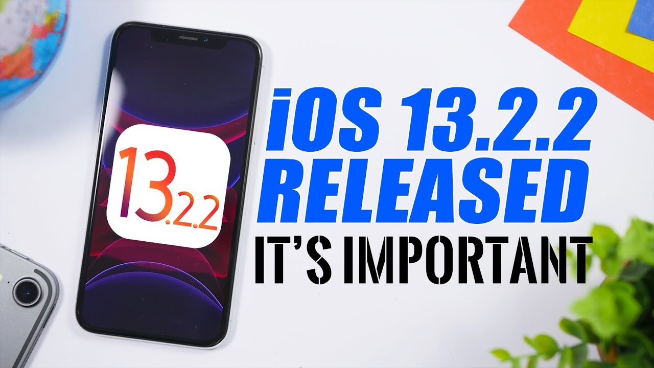 iOS Update 13.2.2 Bug iPhone iPAd