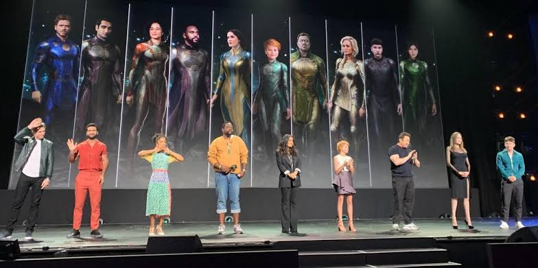 Eternals Movie Cast and Characters