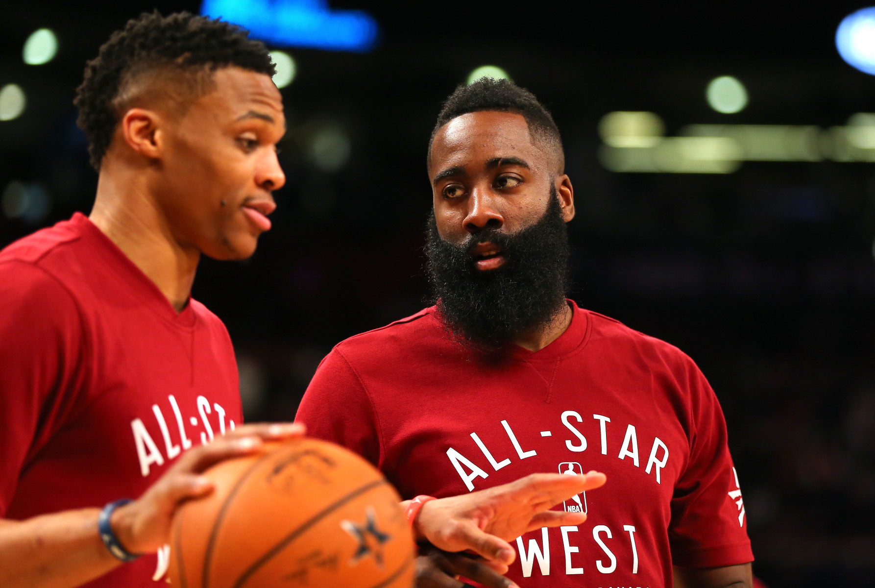 James Harden Plays Better without Russell Westbrook