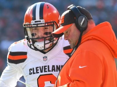 NFL Rumors Cleveland Browns to Fire Baker Mayfield or Freddie Kitchens after Elimination from Playoffs