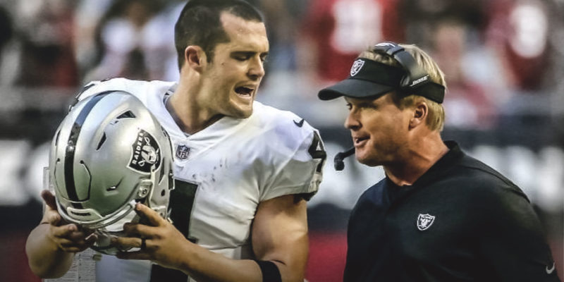 NFL Rumors Jon Gruden wants Oakland Raiders to Remove Derek Carr from the Team