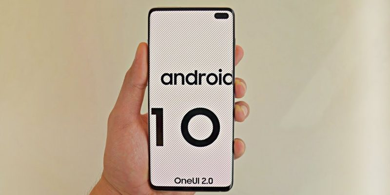 Samsung Android 10 OS Update