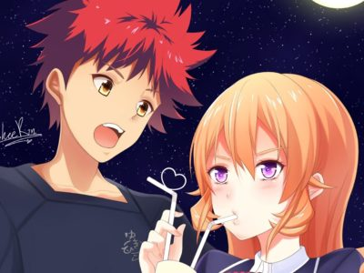 Food Wars Season 5 Release Date, Plot Spoilers Soma and Erina will Fall in Love in the Anime Series