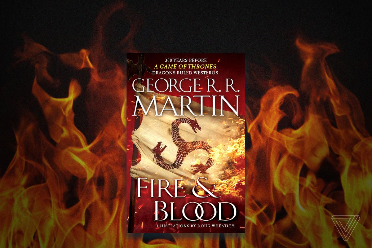 George RR Martin announces New Book, but it's not TWOW
