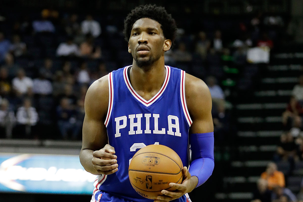 Joel Embiid is Unable to Shoot 3-Pointers