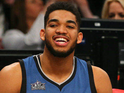 Karl-Anthony Towns Rumors Celtics and Warriors looking to Sign the Wolves Center before Trade Deadline