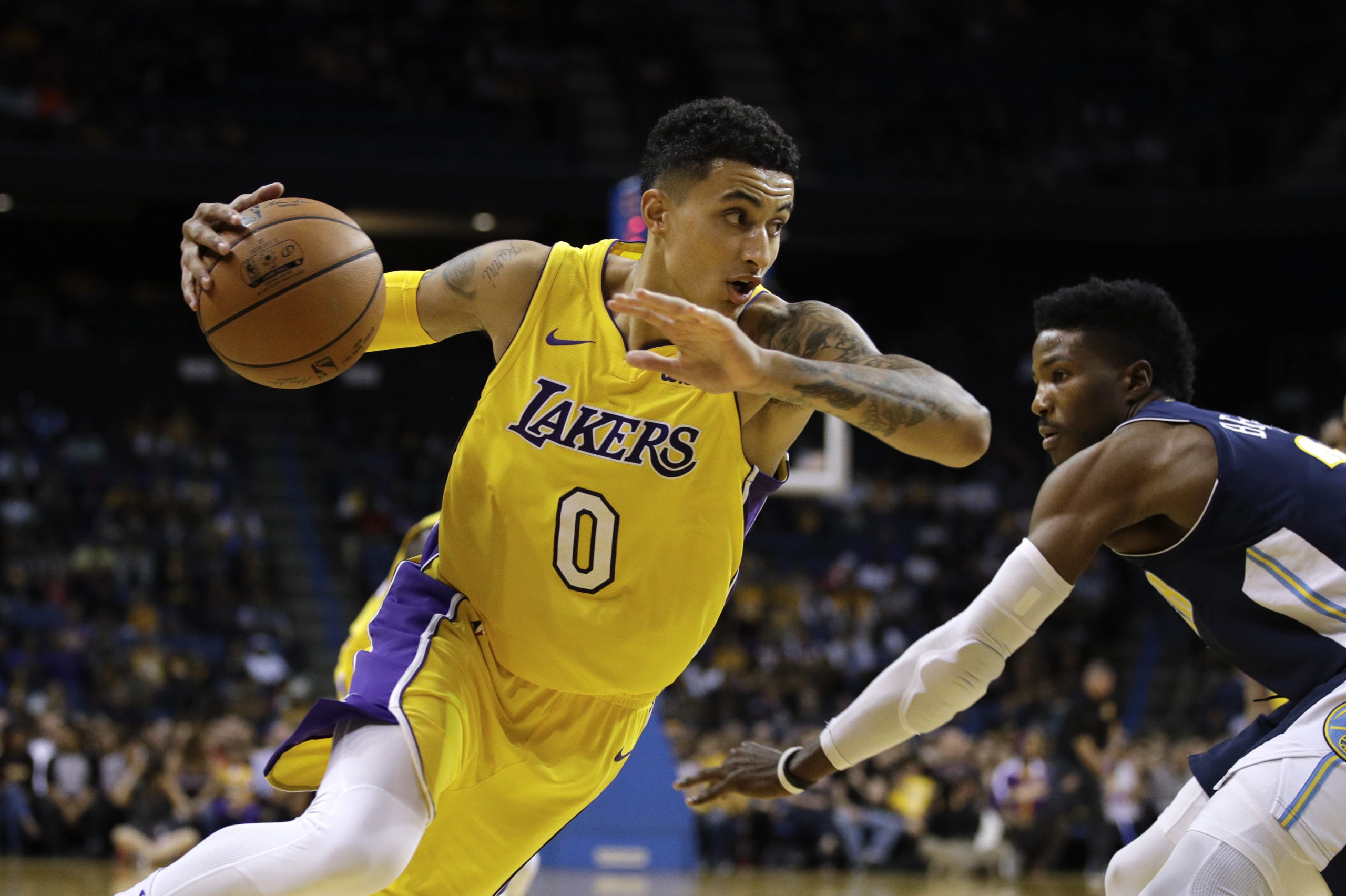 Kyle Kuzma Fits in Grizzlies Pefectly