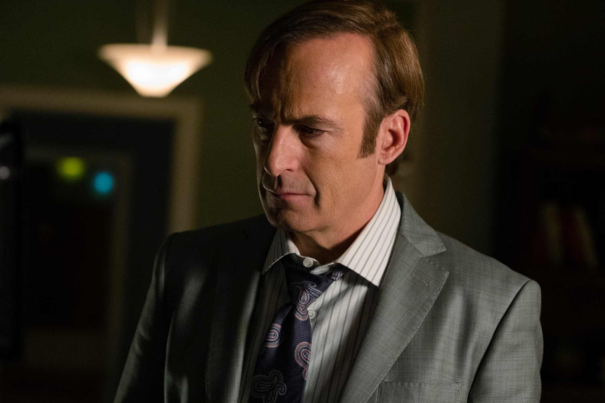 A still from the famous Netflix show Better Call Saul.