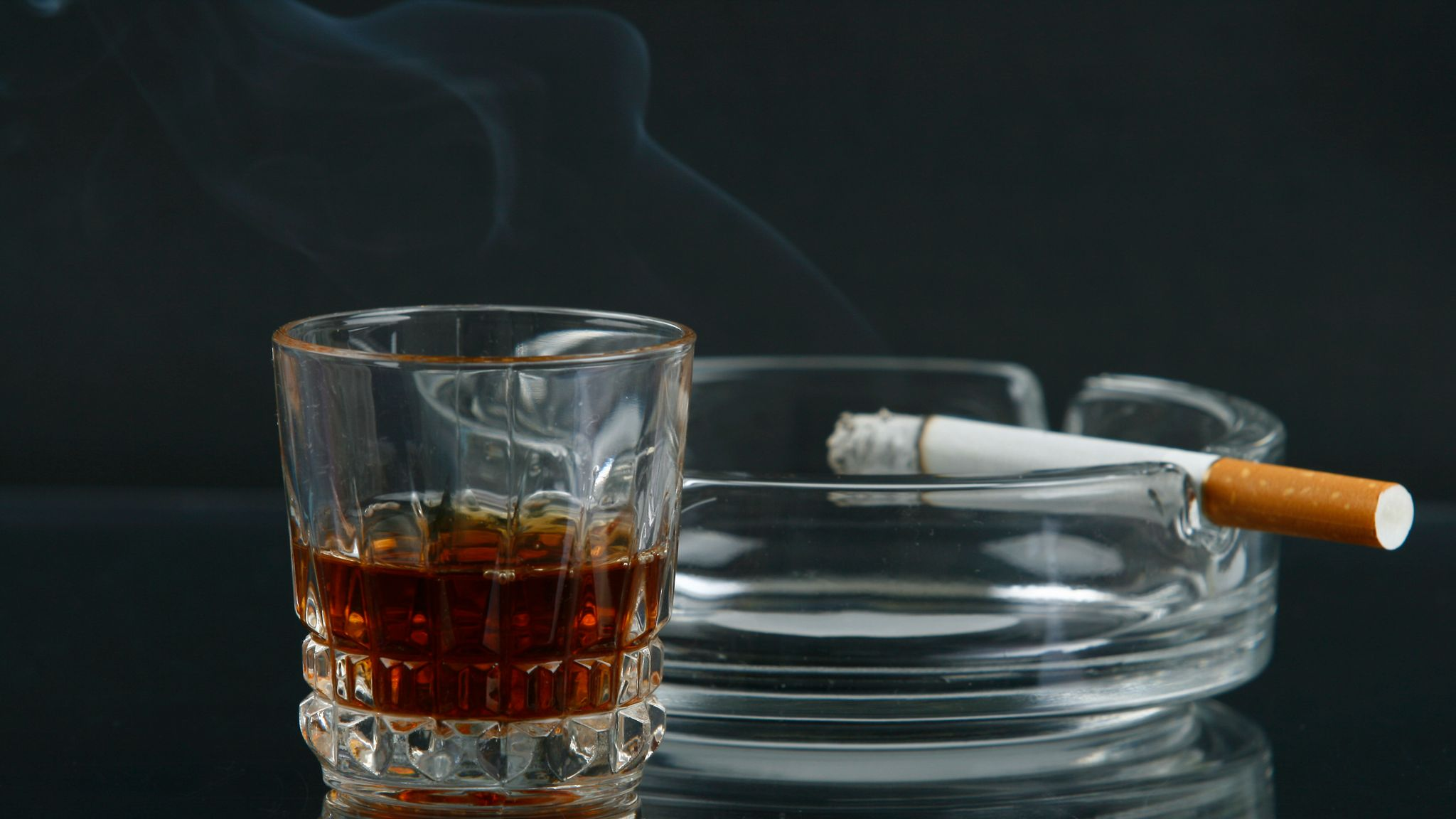 Smoking and Drinking are Dangerous to Coronavirus Infected Patients