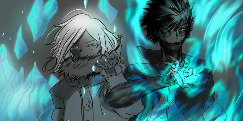 My Hero Academia Chapter 271 Spoilers, Leaks Tokoyami vs Dabi Fight and Geten's Ice Powers