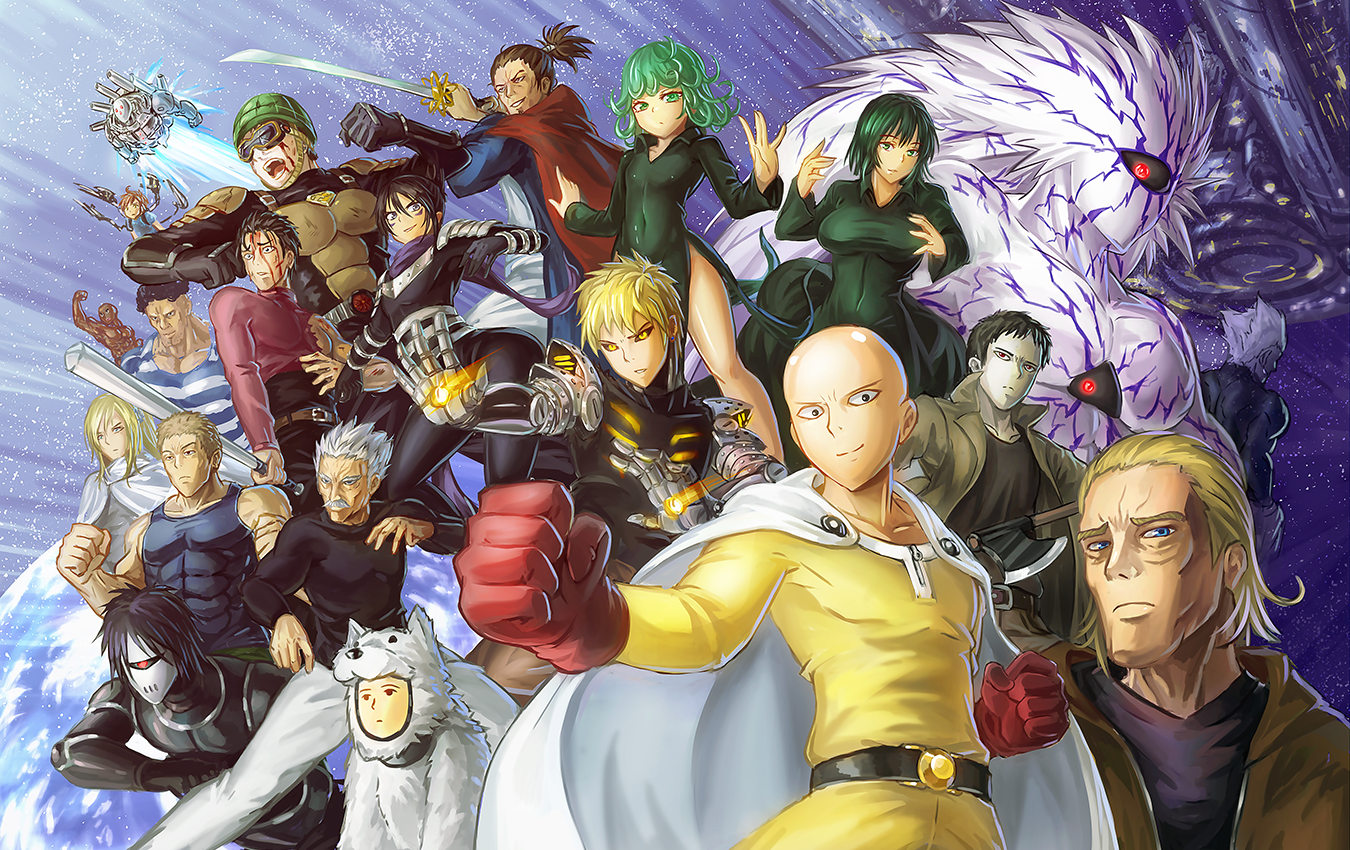 One Punch Man Season 3 Voice Cast and Characters