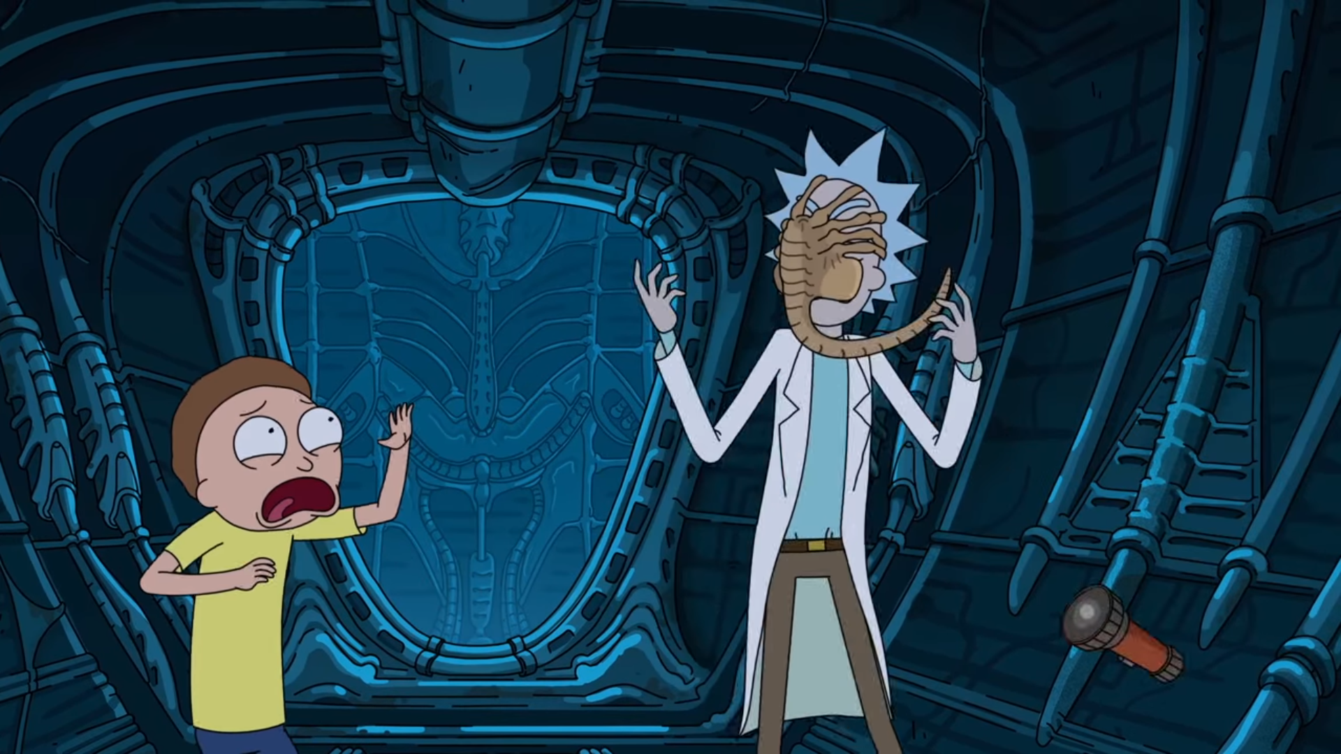Rick and Morty Season 4 Episode 7 Review Making Fun of the Alien Movies
