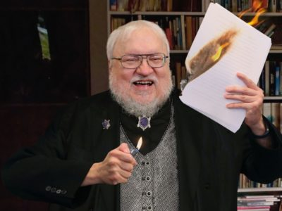 Winds of Winter Release Date Update George RR Martin teases Book Launch after COVID-19 Lockdown
