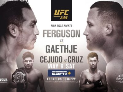 UFC 249 Ferguson vs. Gaethje: Live Stream, Channel, Time, Schedule, Fight Card and More