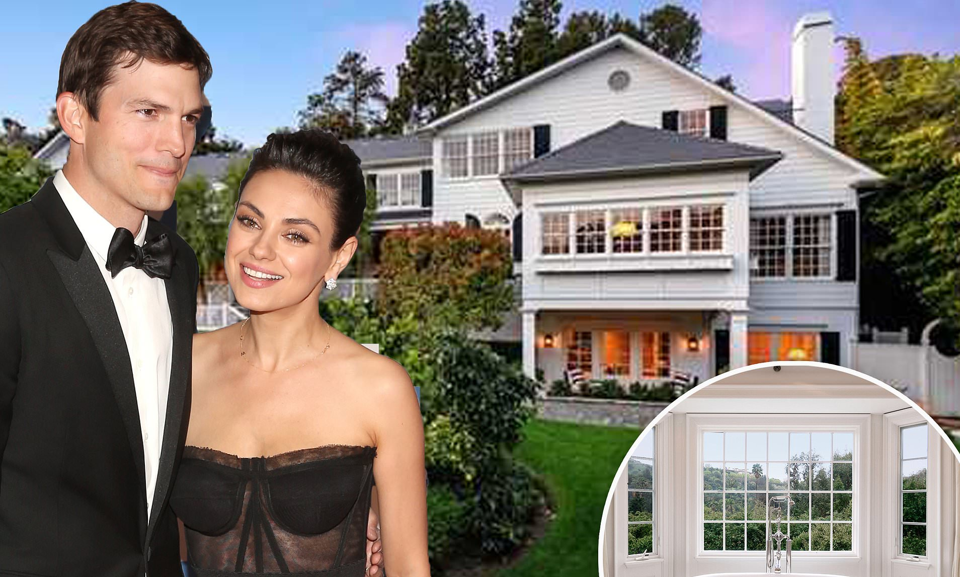 Ashton Kutcher and Mila Kunis Breaking Up over Coldwater Mansion