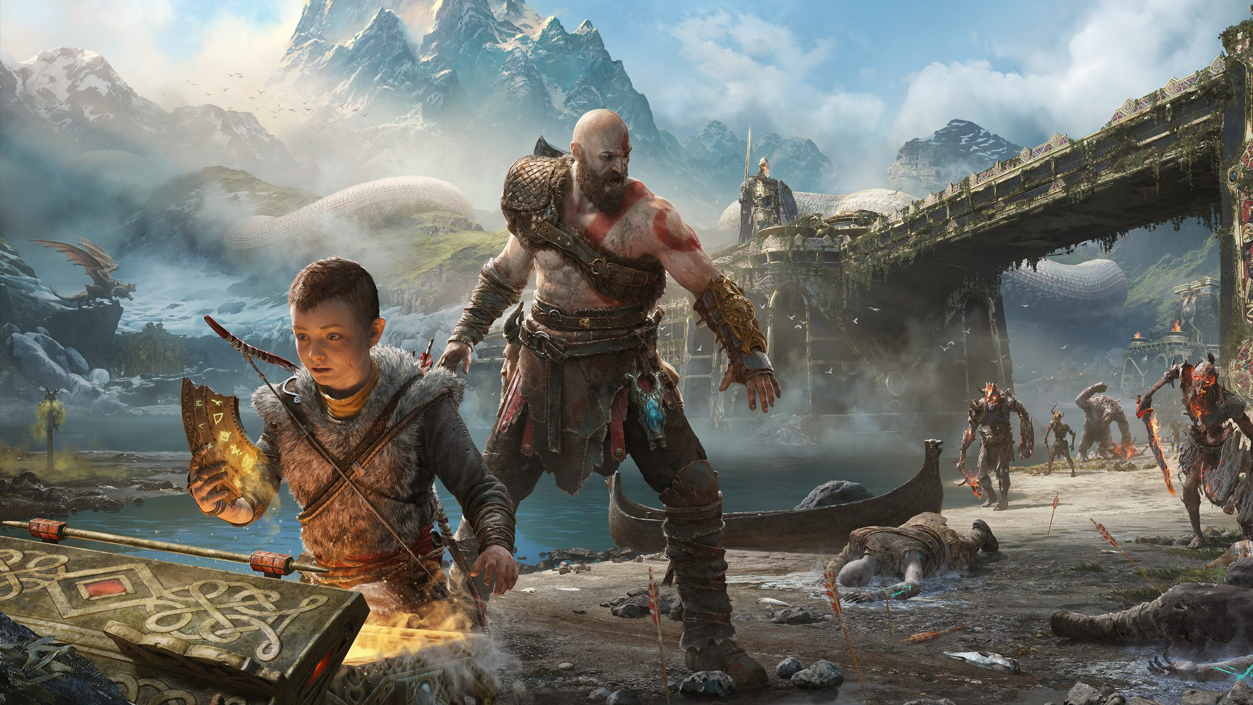 God of War 2 Announcement at Sony PlayStation 5 Event